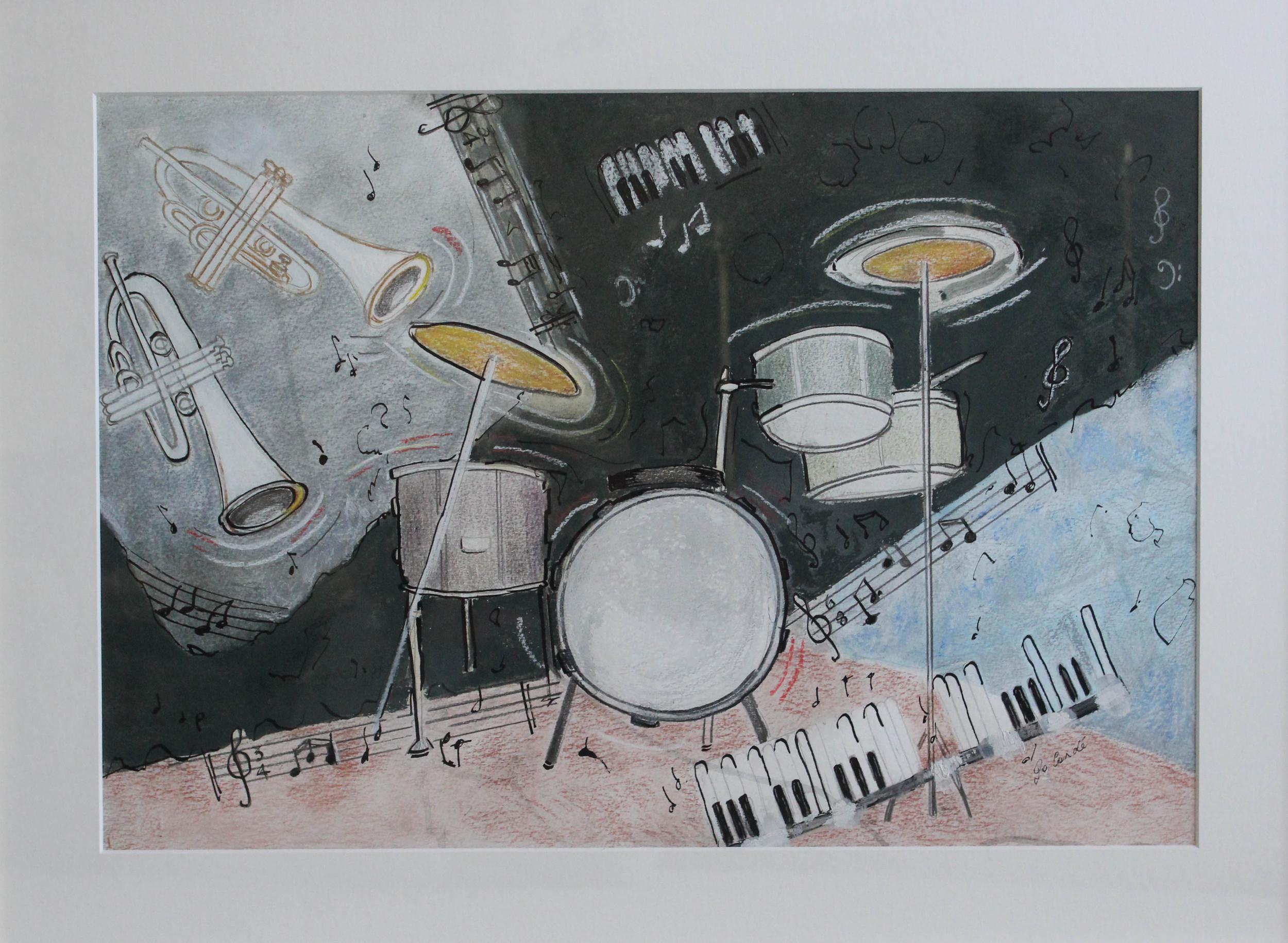 Jazz Trak I, 700 x 520 mm