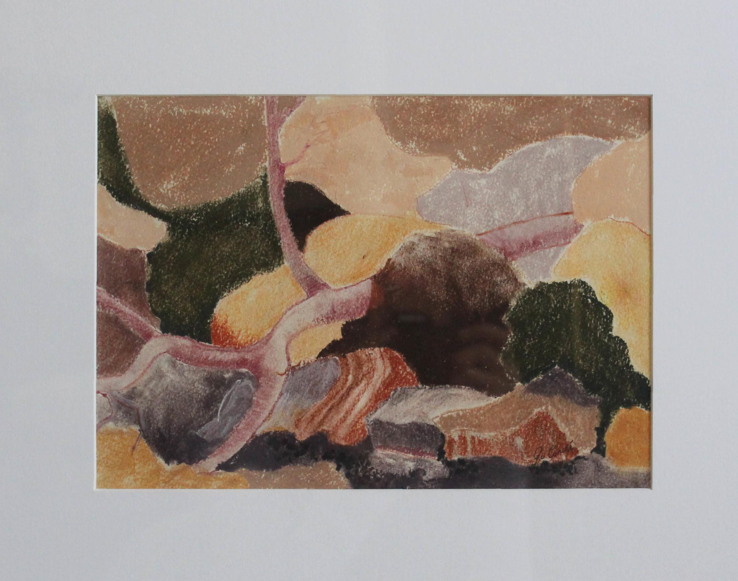 Fallen Tree, 510 x 430 mm