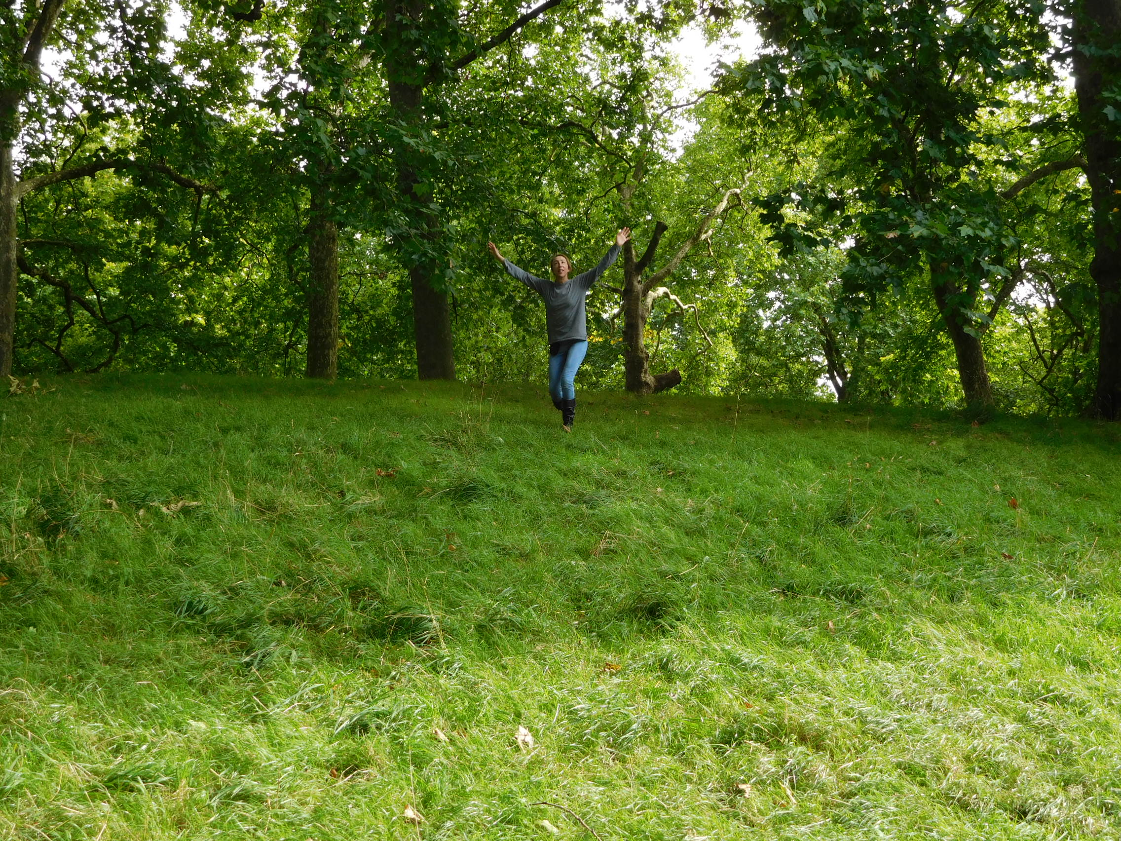 ^ Playing up in Green Park