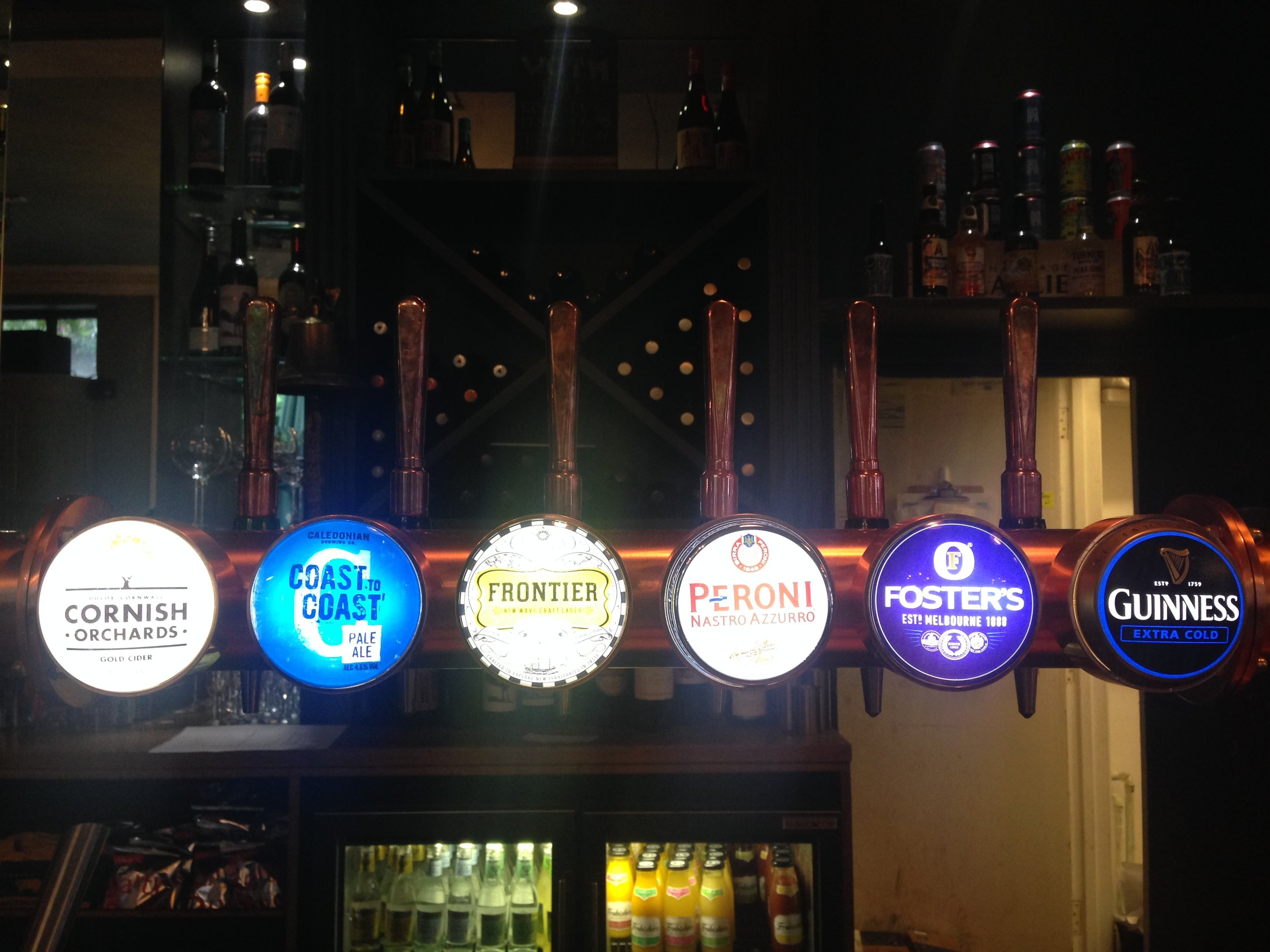 ^ Which one of these taps is the odd one out?