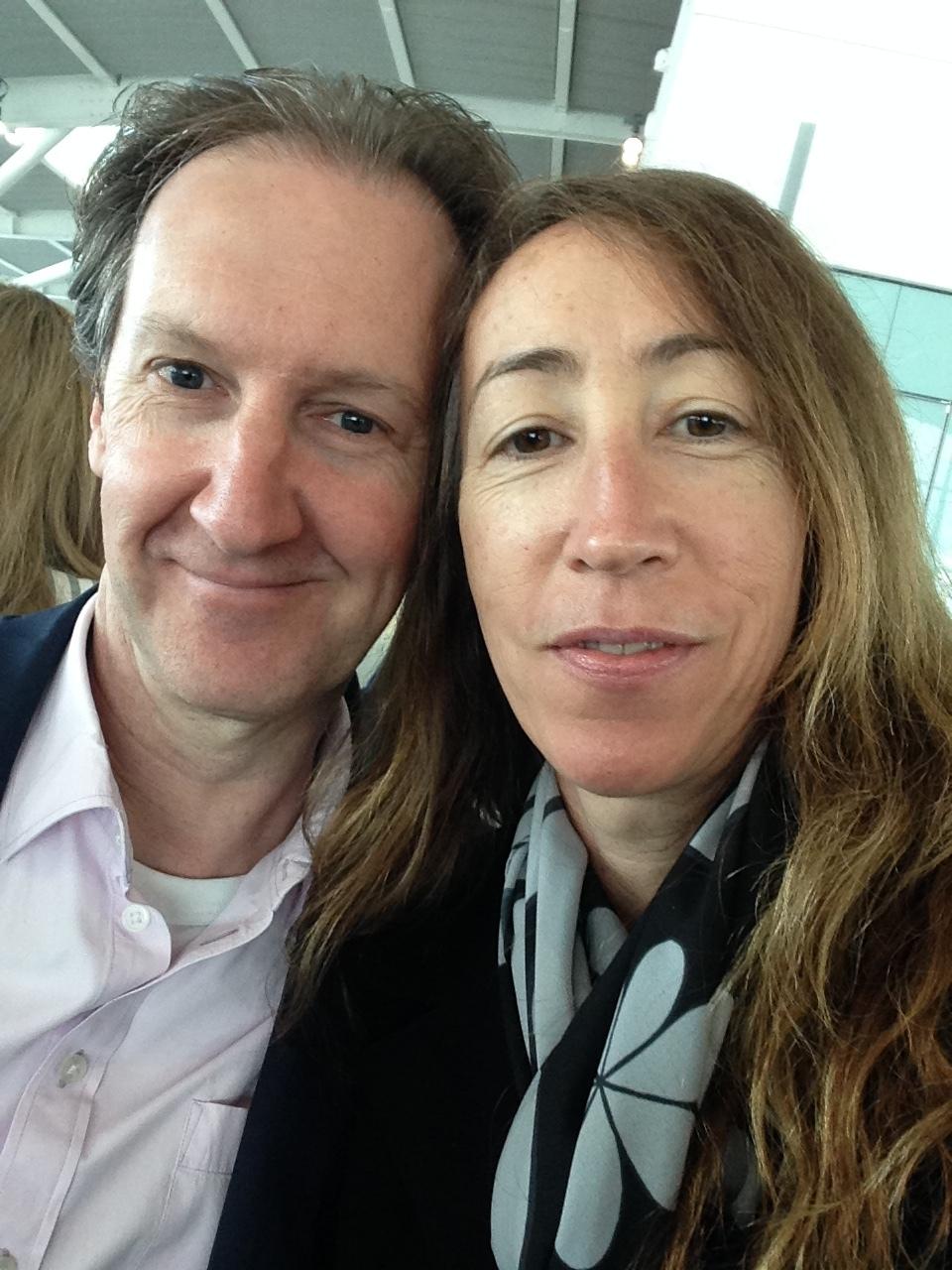 ^ Bleary eyed at Heathrow