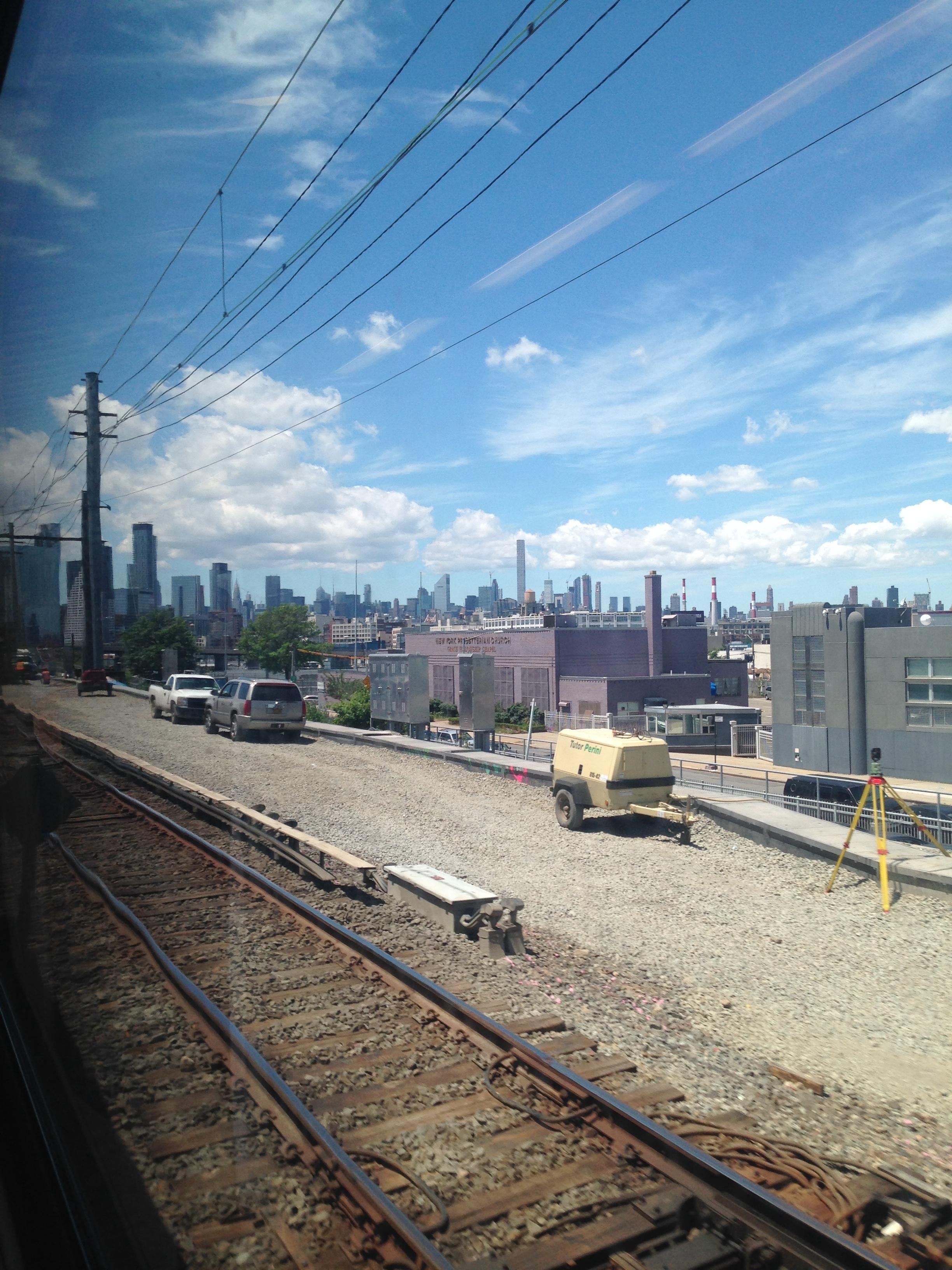 ^ Long Island Train to Penn Stn