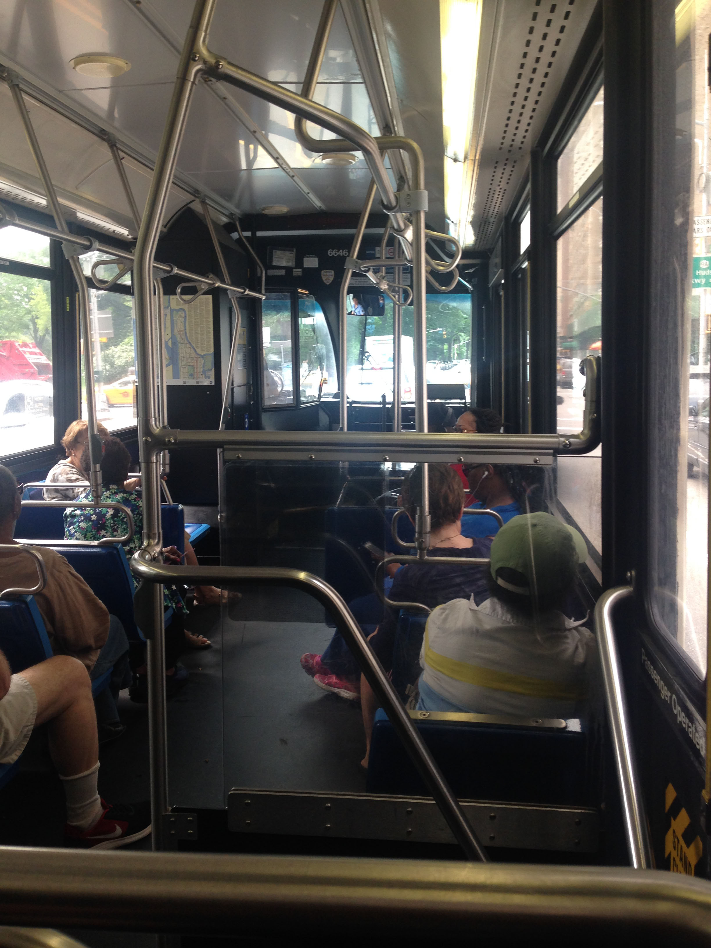 ^ NYC bus