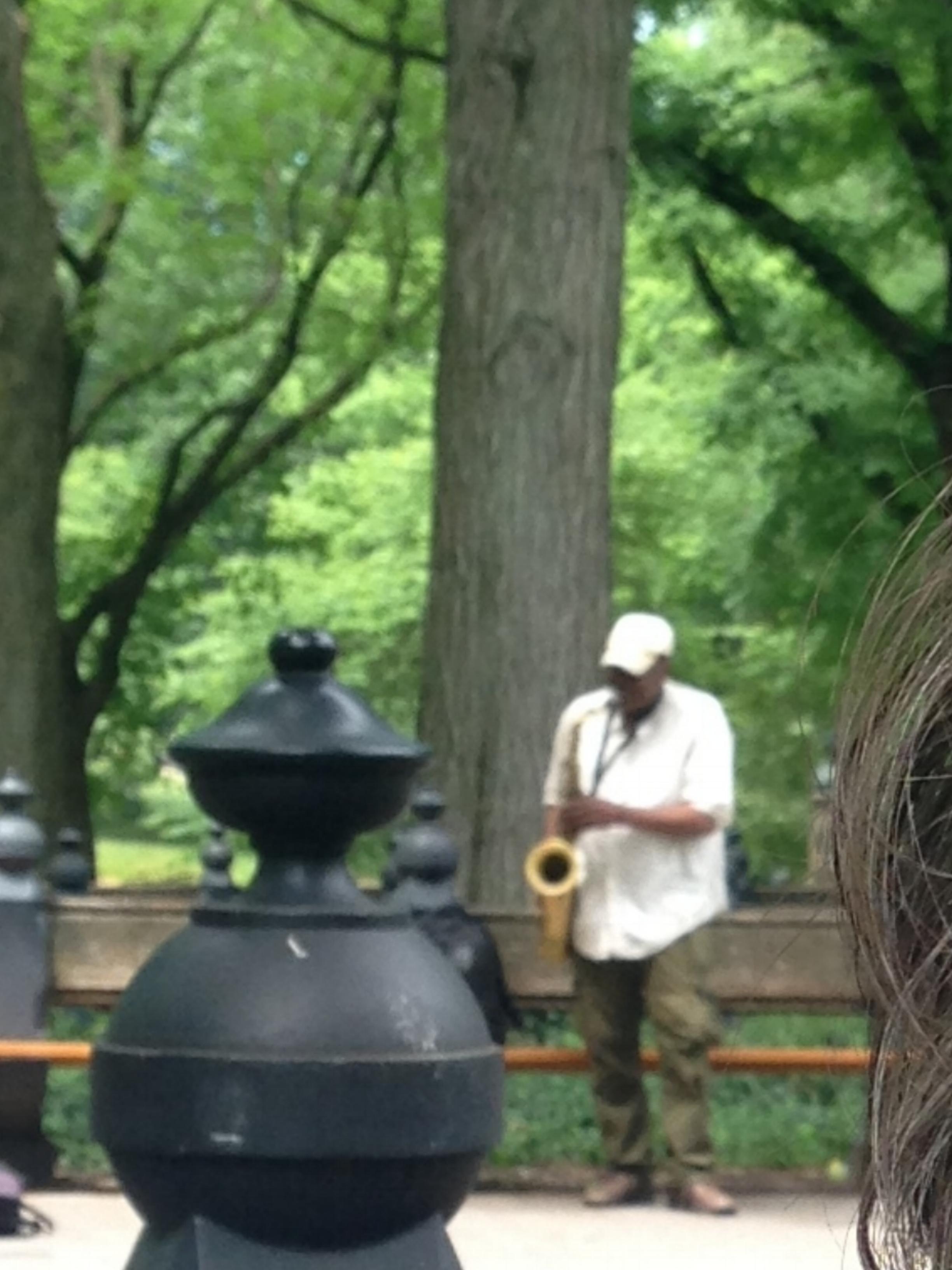 ^ Central Park jazz