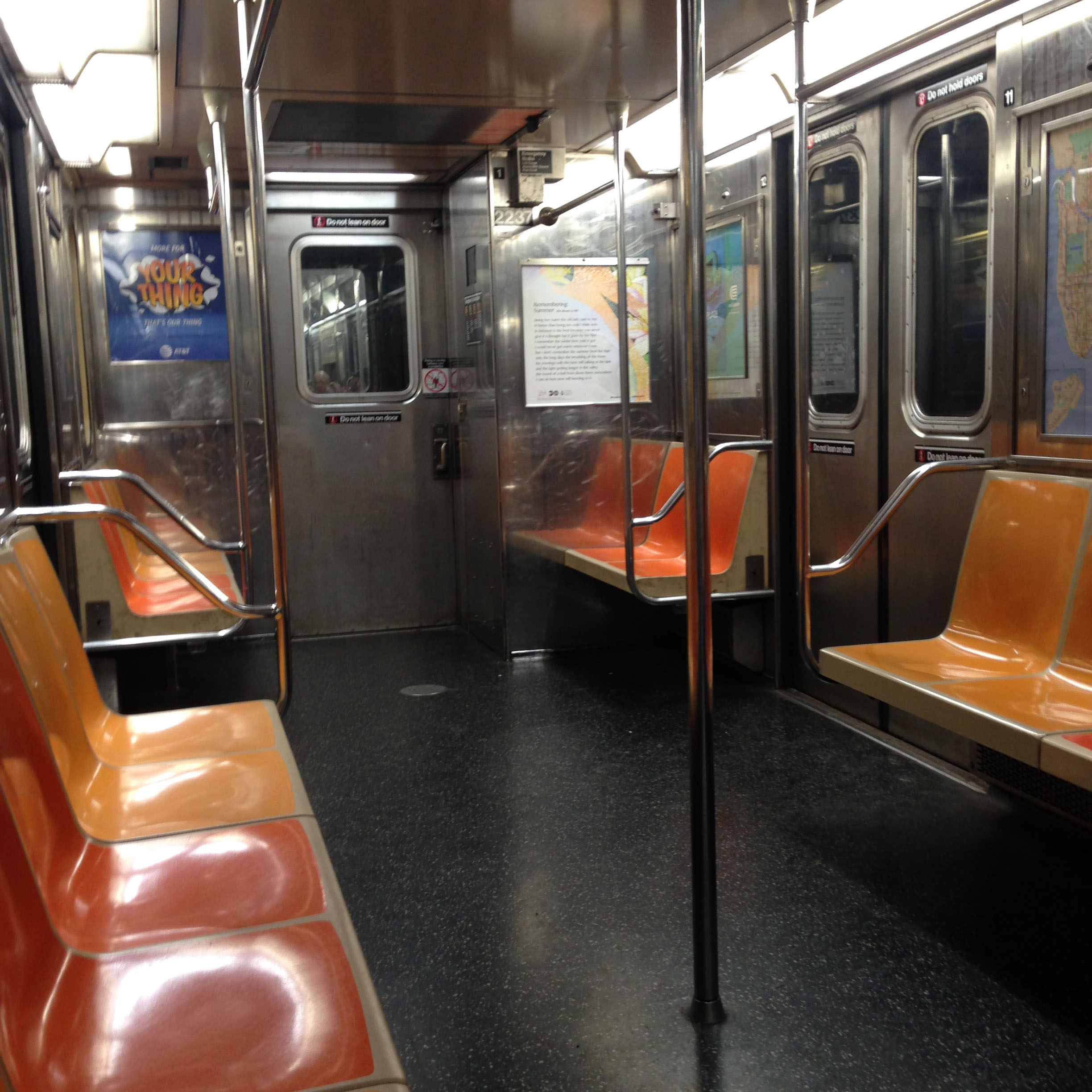 ^ Subway carriage