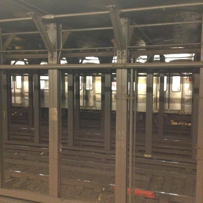 ^ Subway tunnel