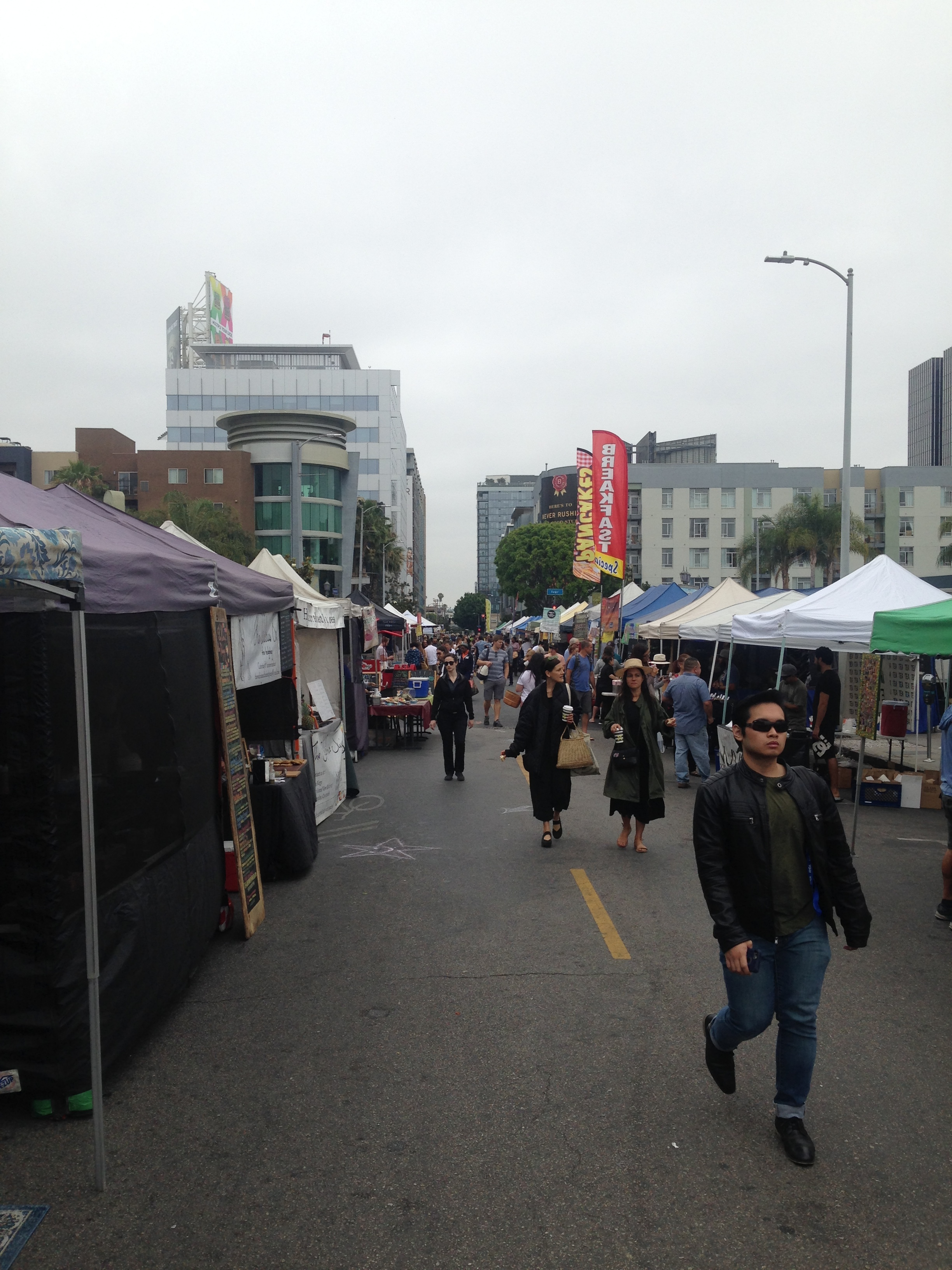 ^ Found the farmers market