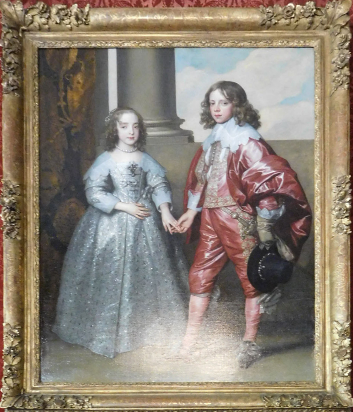 Mary, age 9, marries William II, age 14