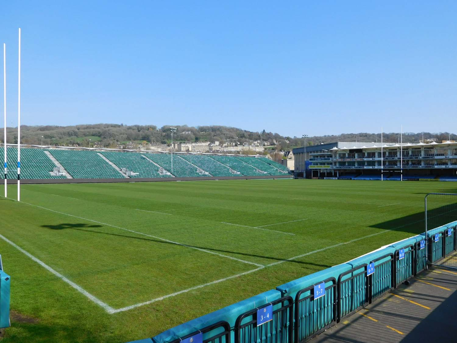 Bath Rugby field