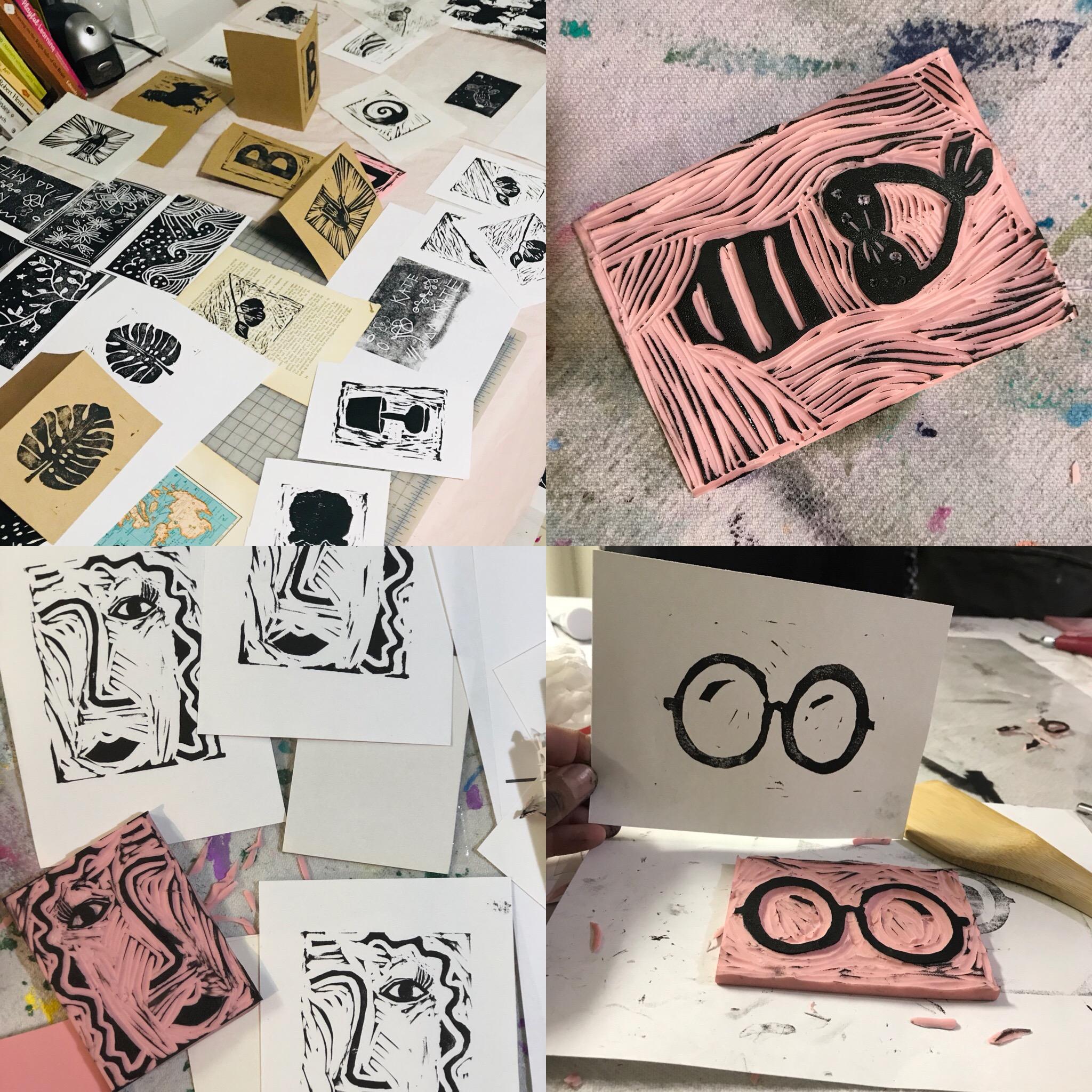 printmaking student work.JPG