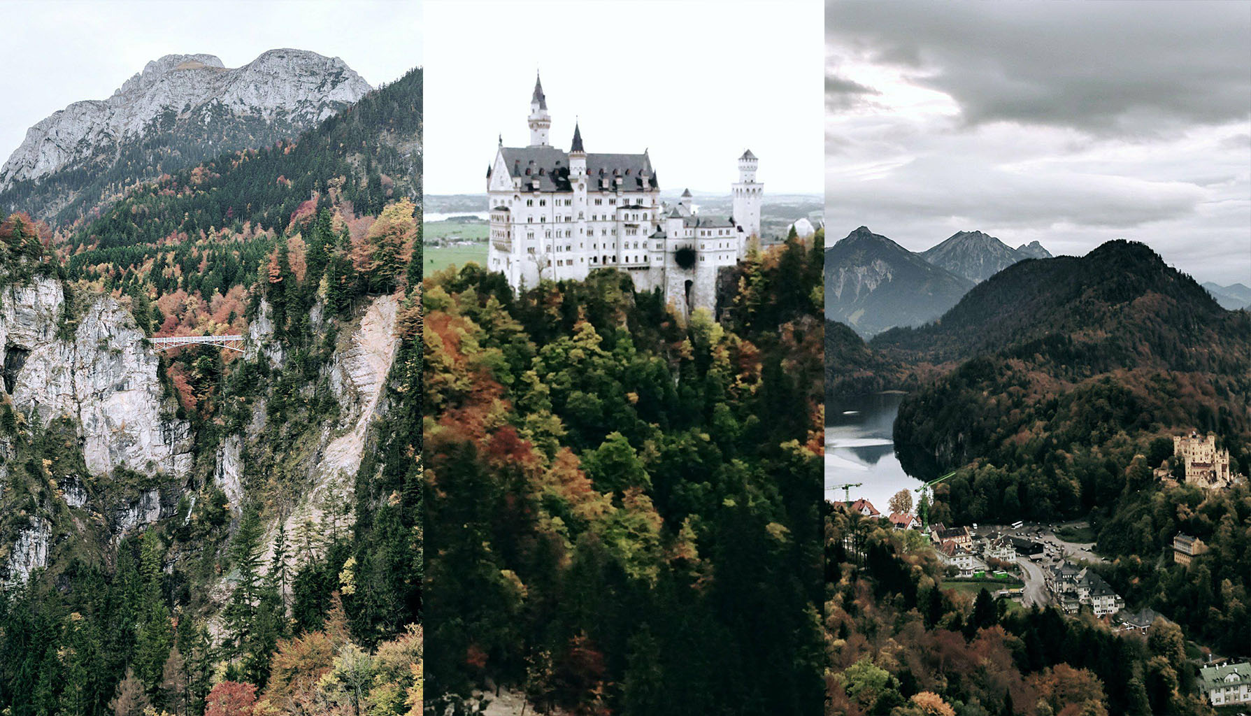 I'll be the first to admit I love a nature escape any day. Discovering the  Neuschwanstein Castle made for the perfect day trip with EPIC views.A great balance to city life just less than a two hour drive from Munich.