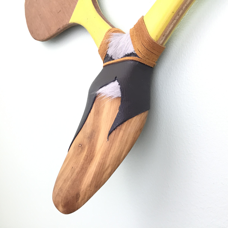 Shoe Mold Racquet Head (close up)