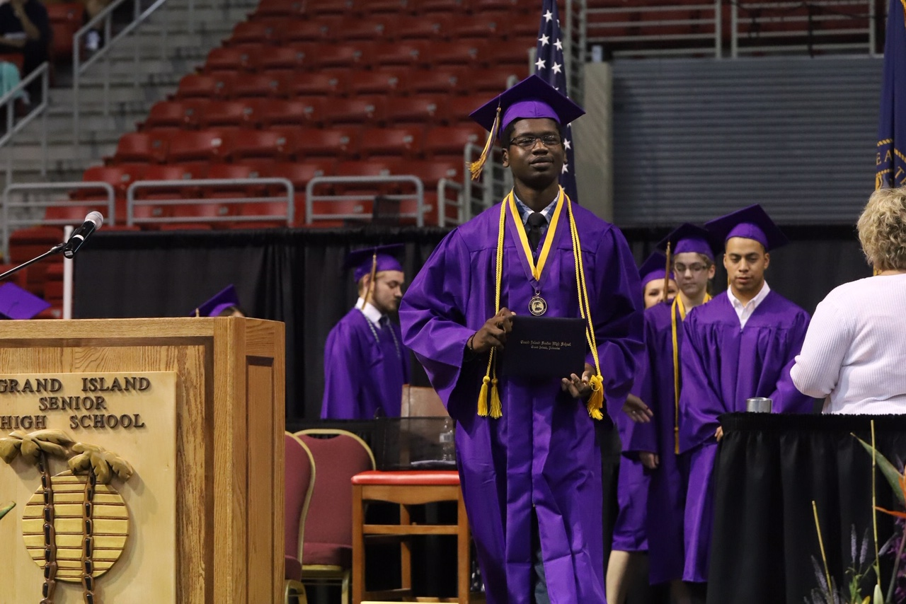 Qasim graduated from high school in Nebraska in May and is headed to University of Nebraska-Lincoln in the fall.