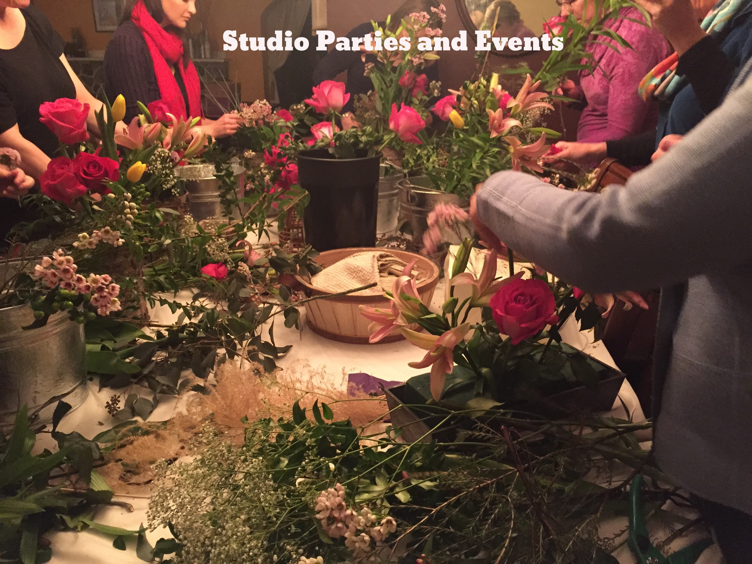 Studio Parties and Events