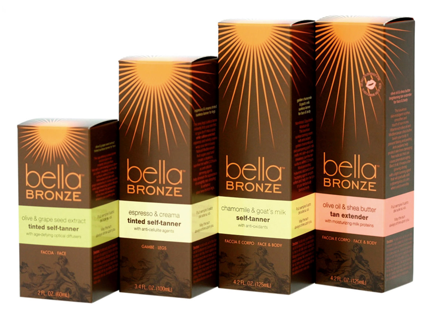 Bella Bronze Sunless Tanning System Cartons