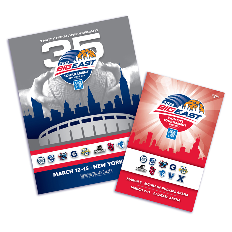 Big East Conference Program Covers