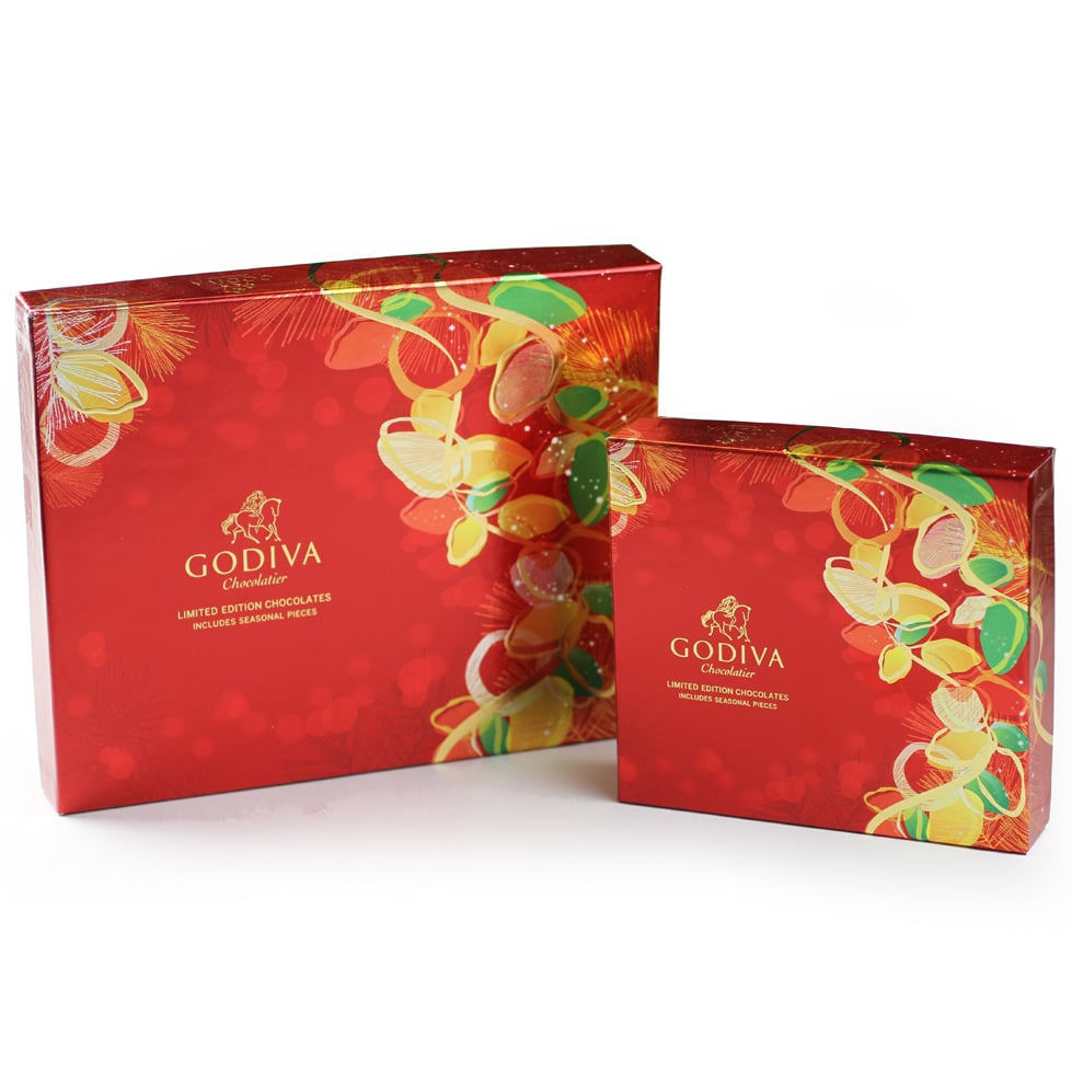 Godiva Holiday Packaging