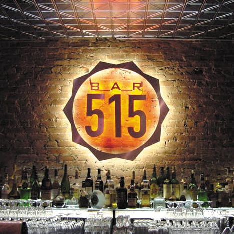 Bar 515 NYC Logo Design