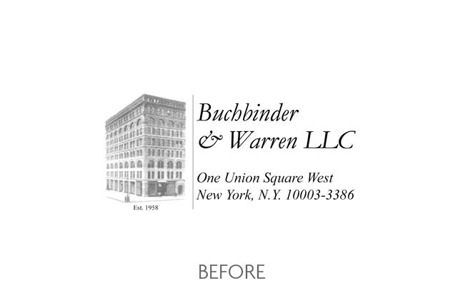 Buchbinder & Warren (Before)