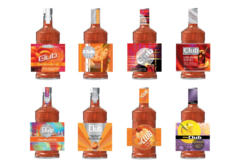 Diageo - The Club Label Design Exploration