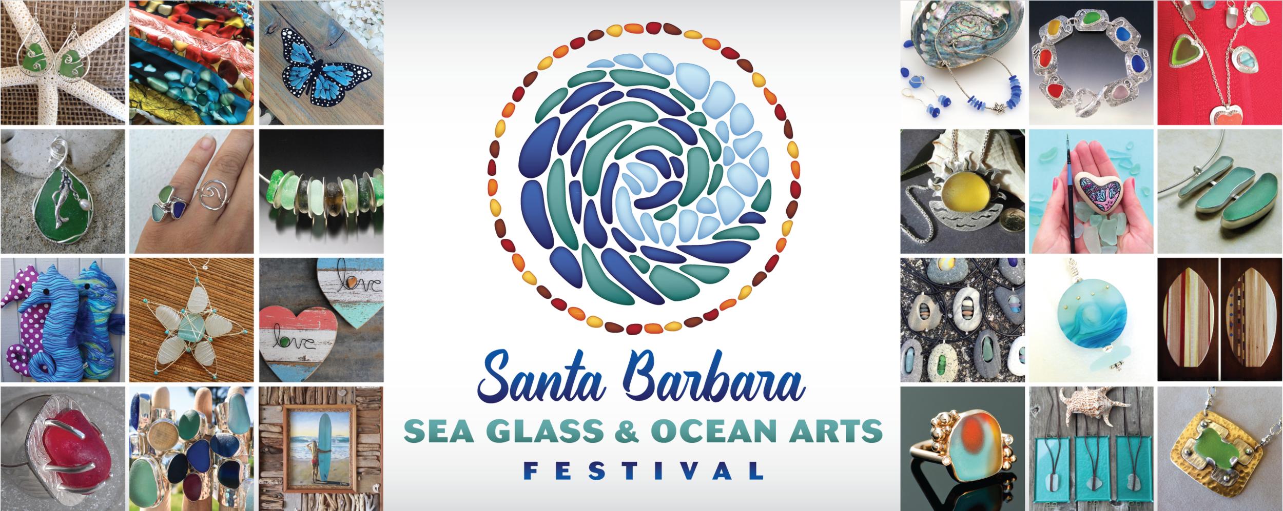 Social Media Cover Image for the Santa Barbara Sea Glass & Ocean Arts Festival