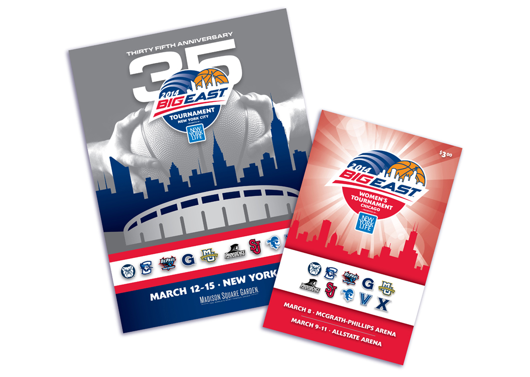 Big East Conference 2014 Basketball Tournament Program