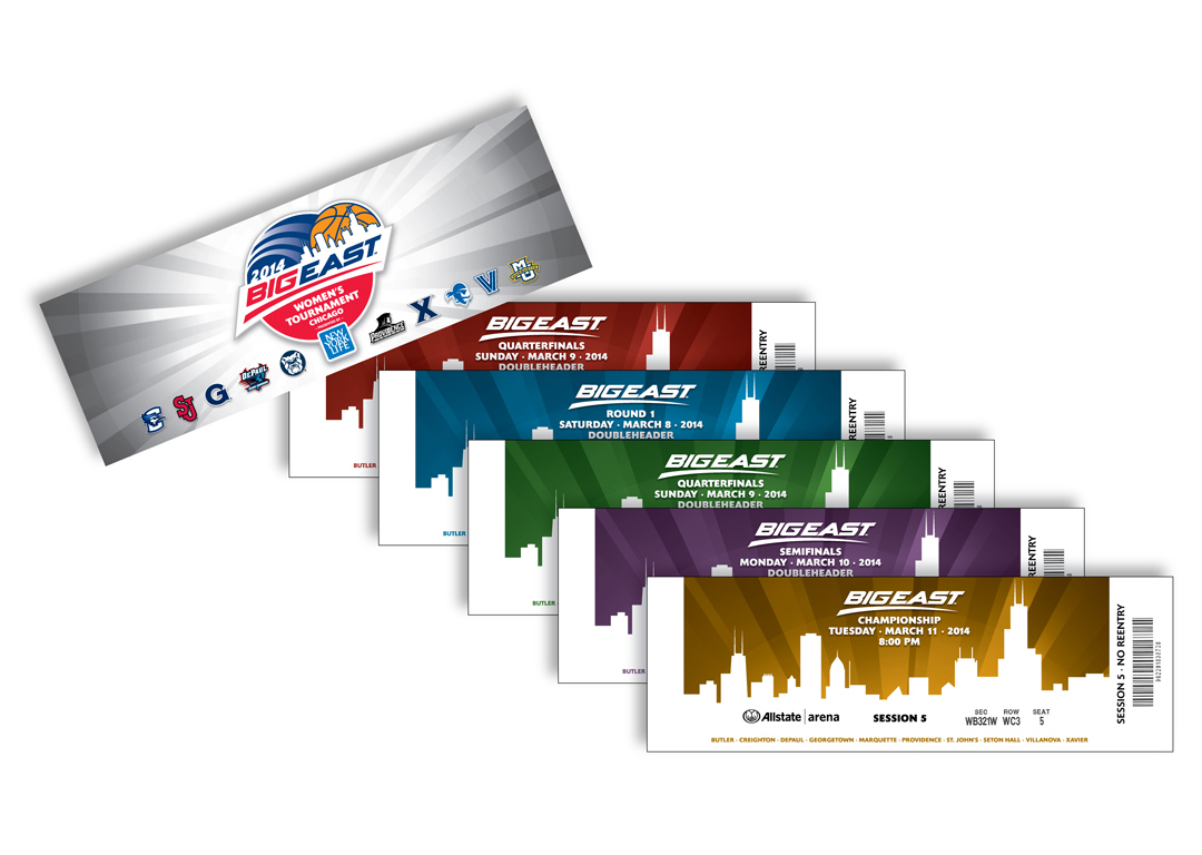 Big East Conference 2014 Women's Basketball Tournament Tickets