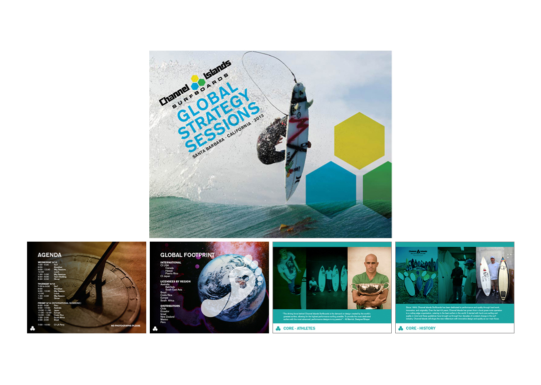 Channel Islands Surfboards 2013 Global Strategy Sessions