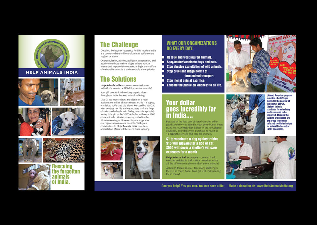Help Animals India Brochure