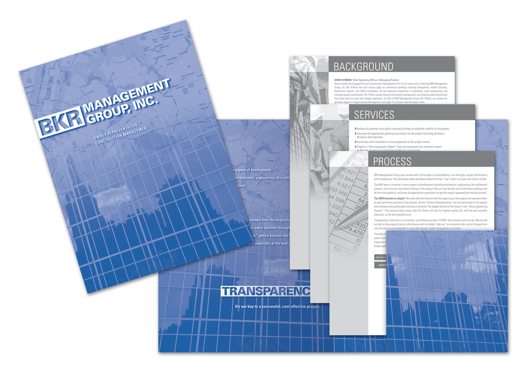 BKR Management Sales Kit