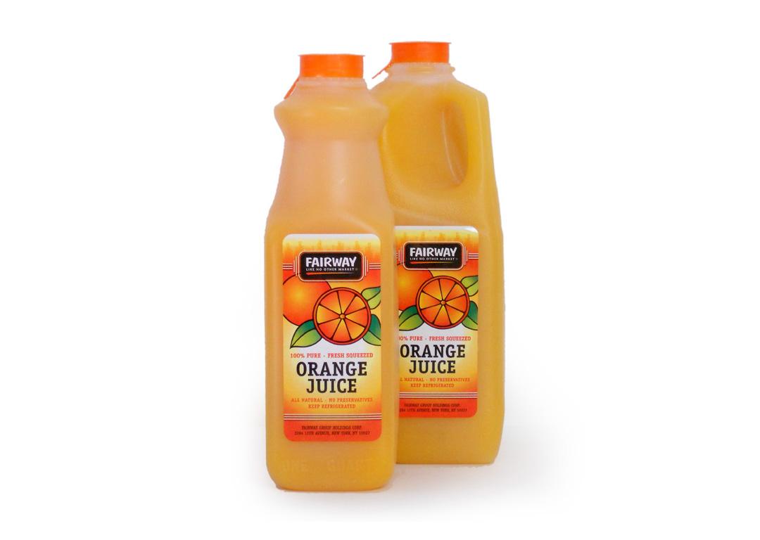 Fairway Market Juice Label