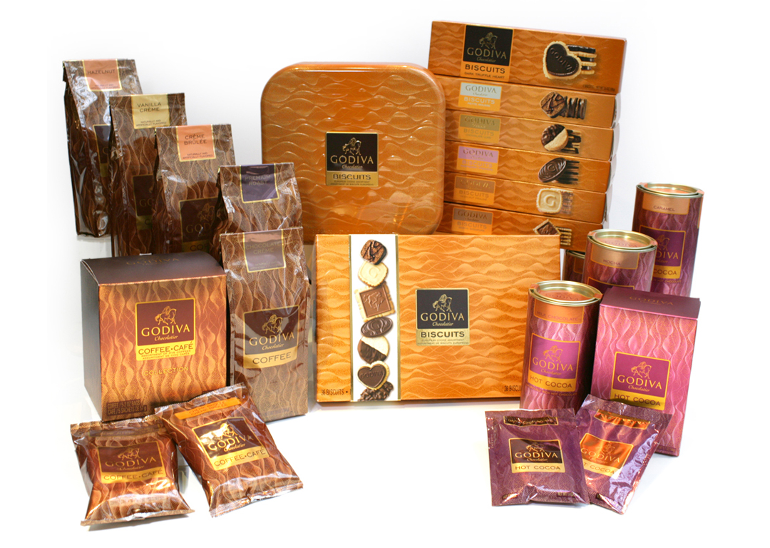Godiva Chocolatier Home Entertainment Collection: Coffee, Biscuits & Cocoa