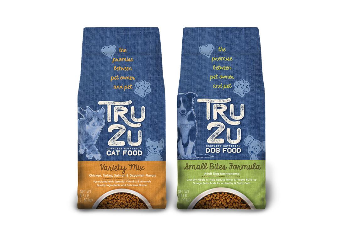 Tru2u Pet Food Design Concept