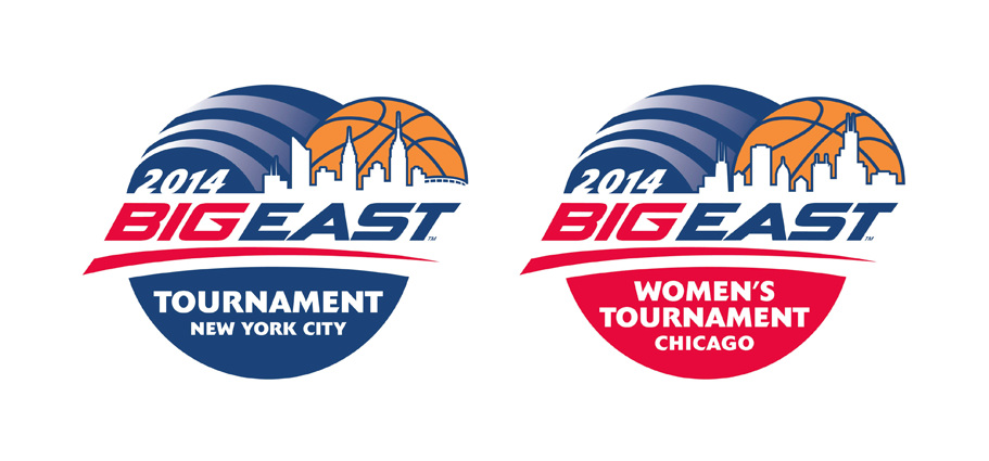Big East Basketball Tournament Logos AFTER
