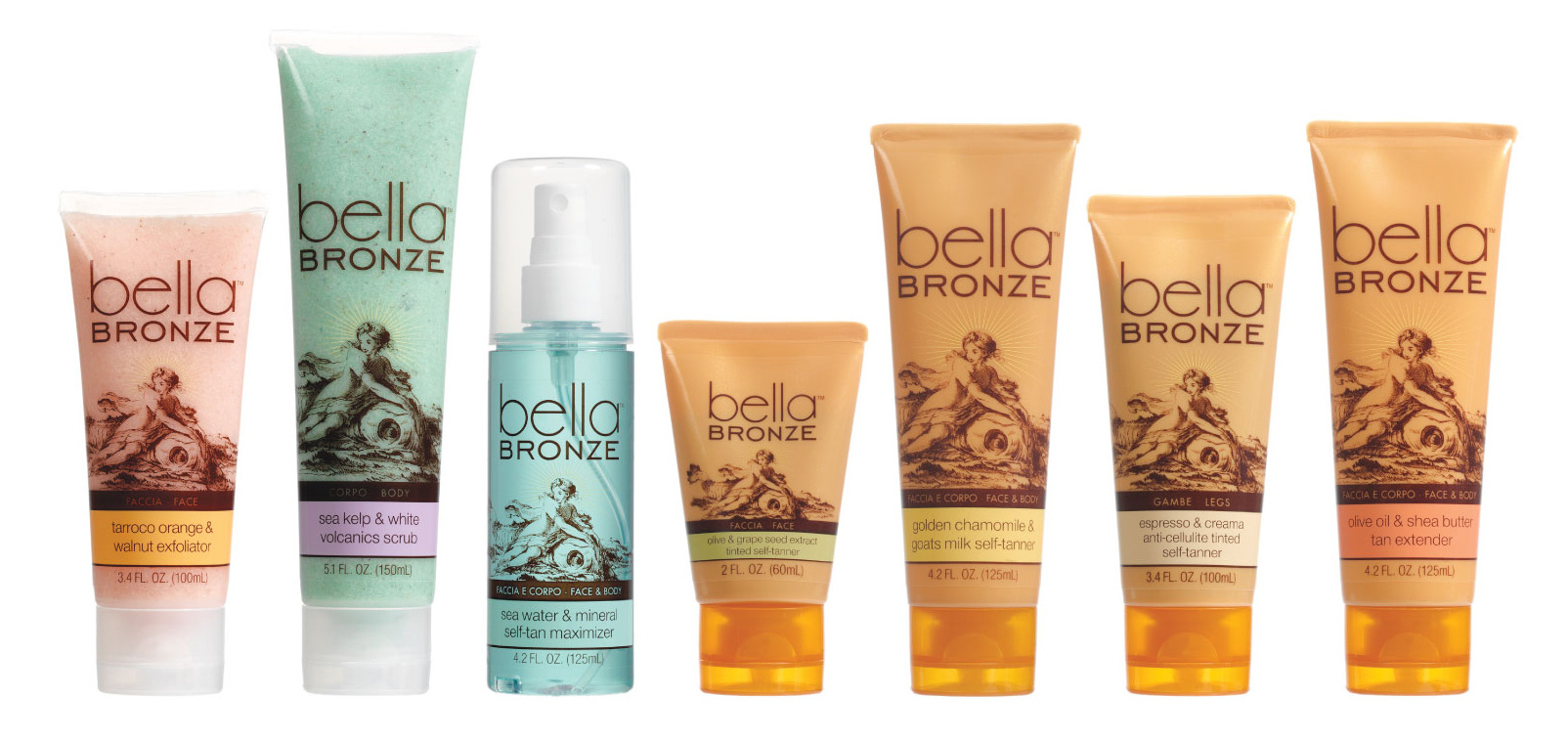 Bella Bronze Package Design - Final