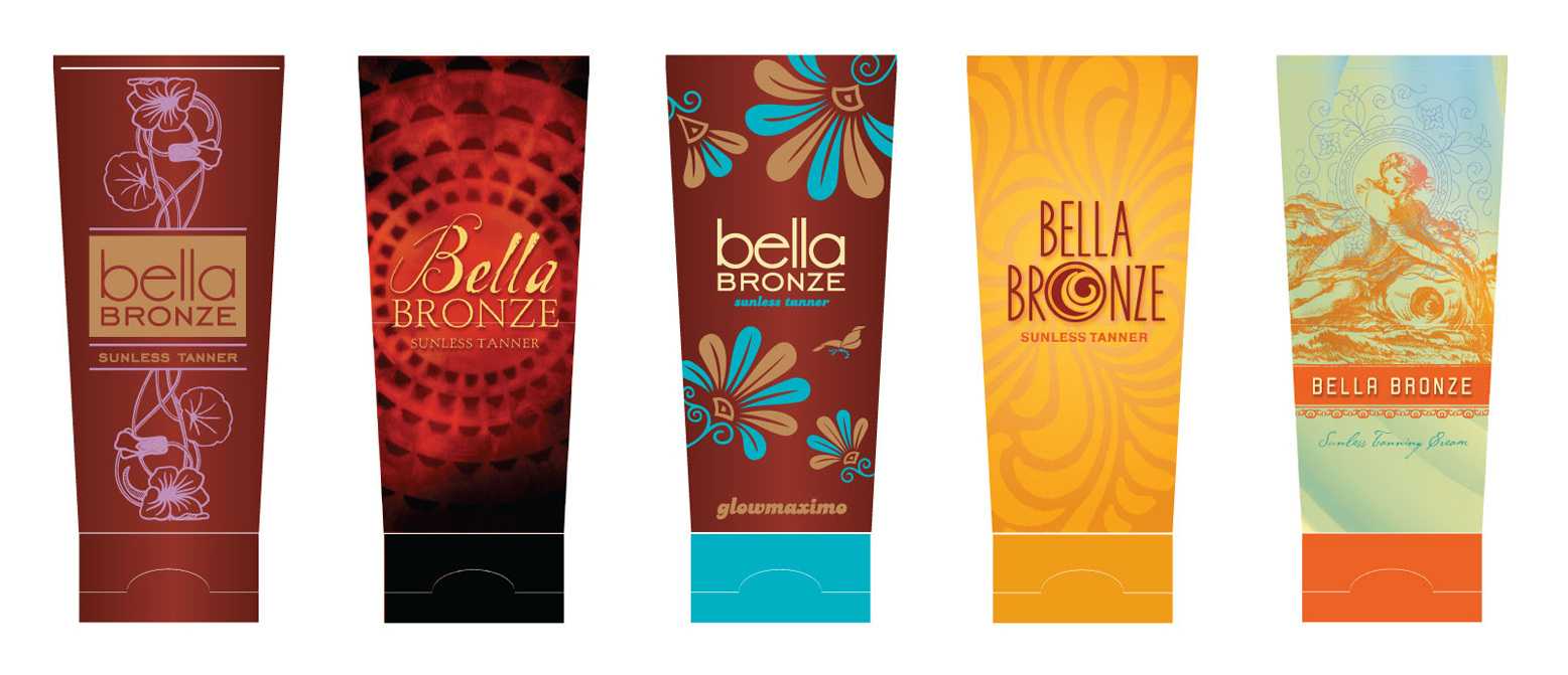 Bella Bronze Package Design Exploration