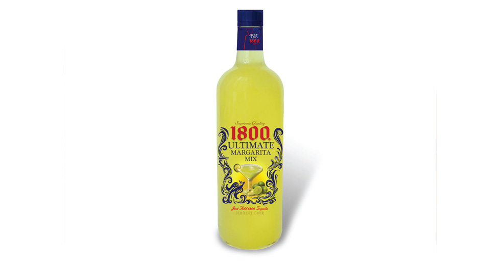 Jose Cuervo 1800 Margarita Mix Label Design - Final