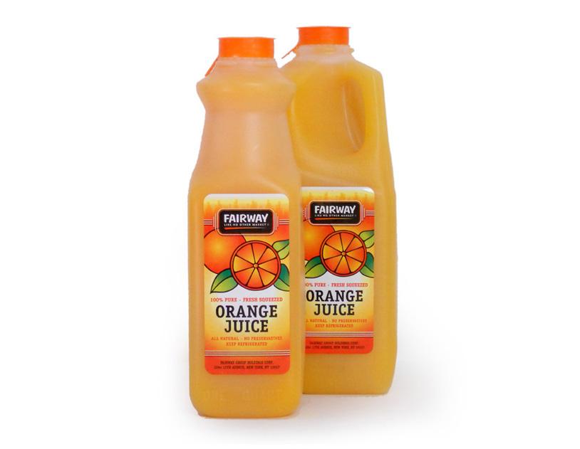 Fairway Market Juice Label Design - Final