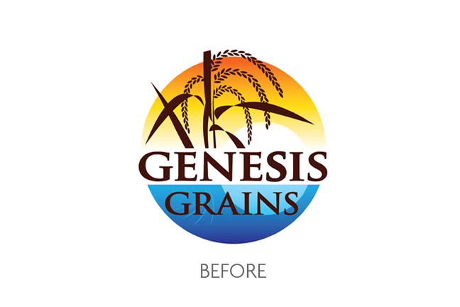 Genesis Grains Logo Before