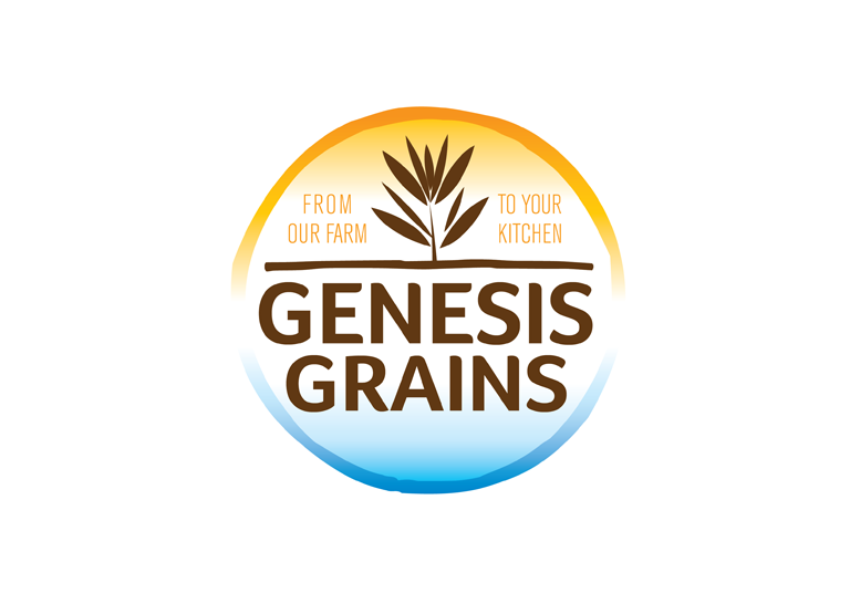 Genesis Grains Logo Design