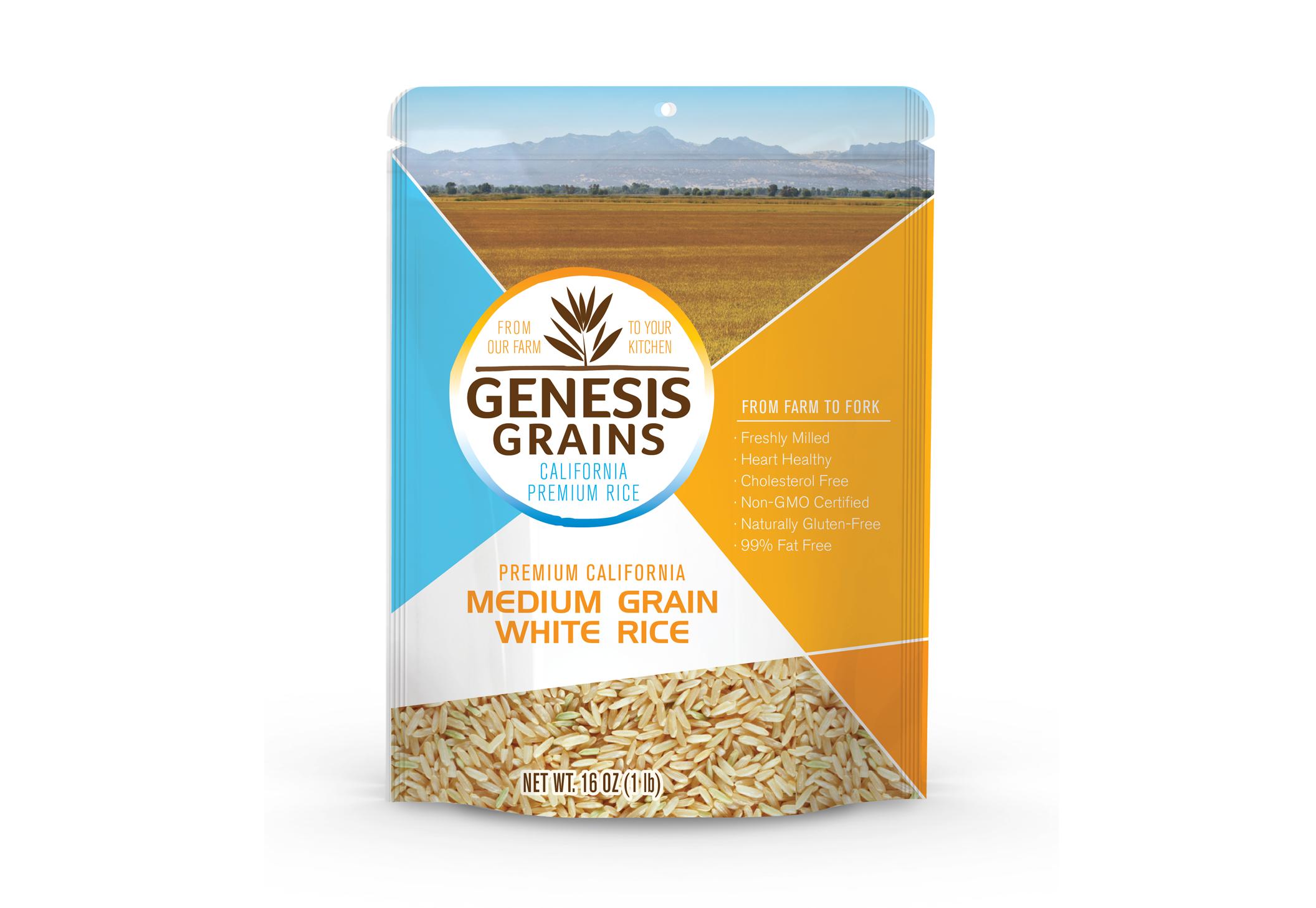 Genesis Grains Package Design