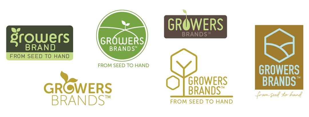 Growers Brand Logo Design Exploration