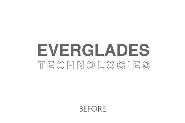 Everglades Technologies Logo Before
