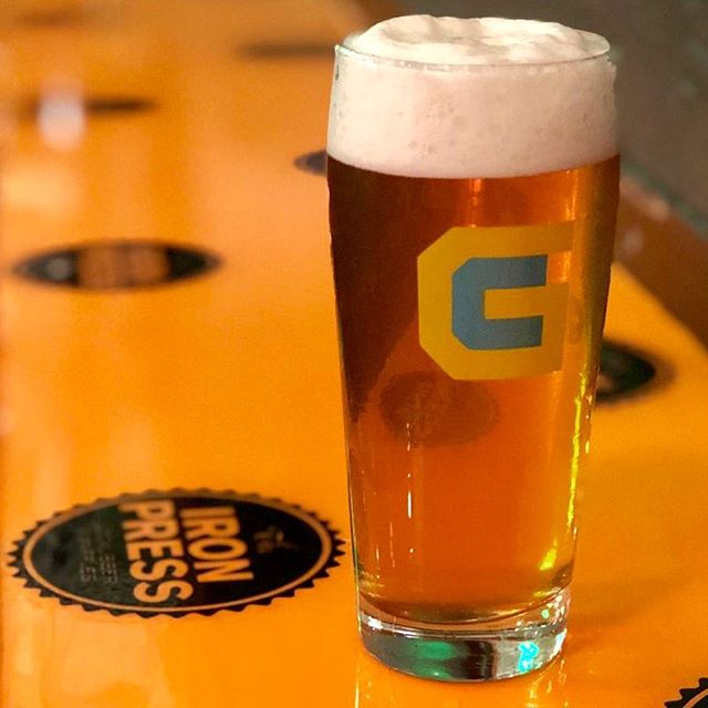 Tonight is the night! Attention Craft Beer Gamer Heads- This is your event! Starting at 5 PM tonight, @gamecraftbrewing is taking over our taps for a Steal The Pint hangout! With purchase of a #GameCraftBrewing flight, you'll get this rad logo Pint Glass for FREE (while supplies last)! So, get down here!!! 🍻