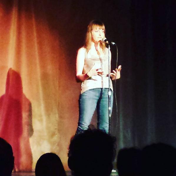 Teva speaking at Raconteurs Storytelling