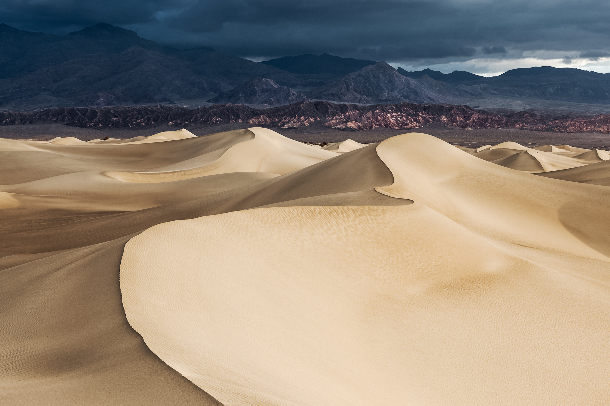 After the Storm...Mesquite Dunes Sunrise