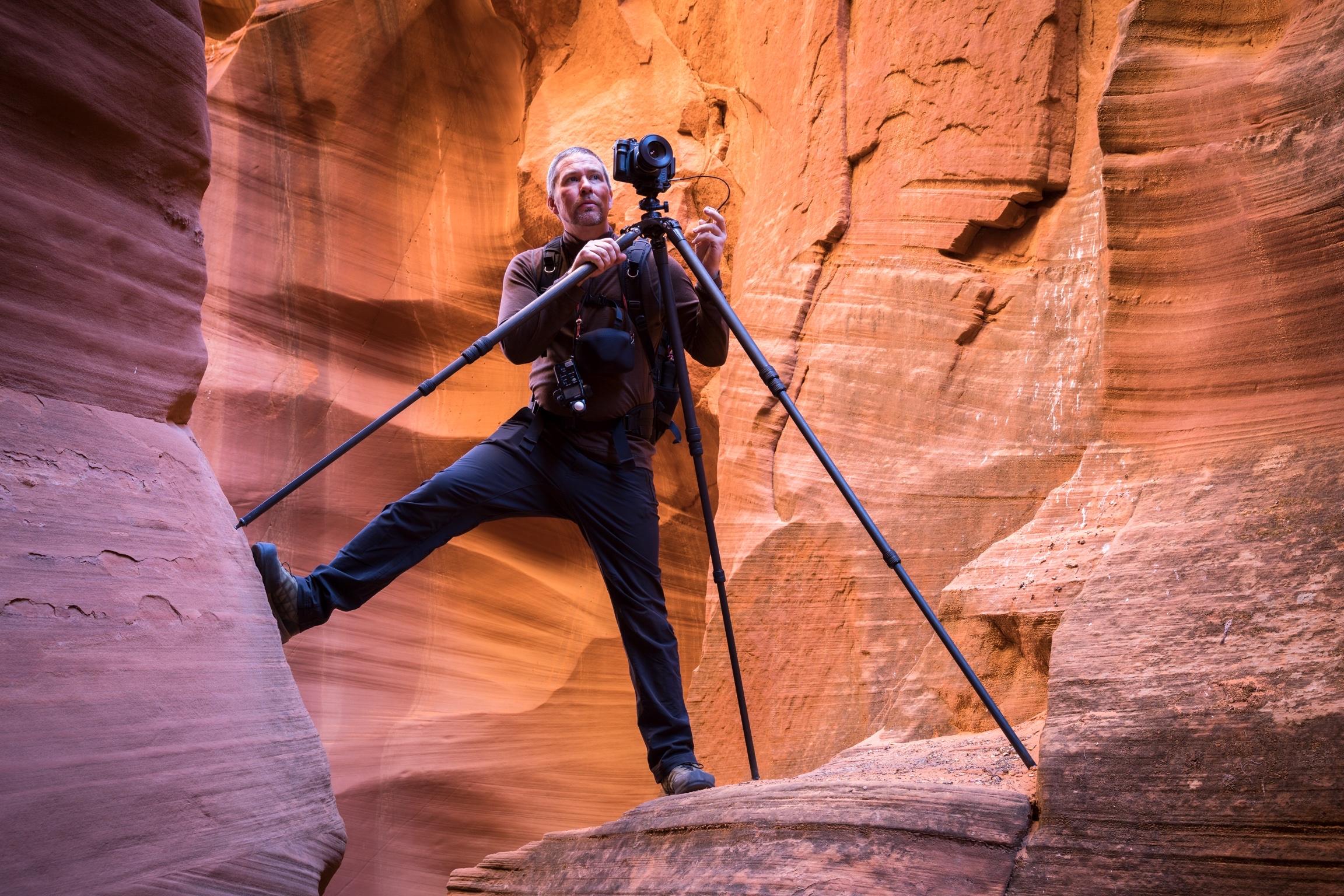 Raynor Czerwinski catching the light…(photo by Josh Merrill)