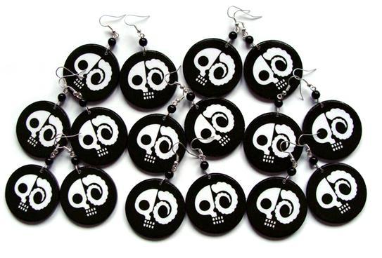 DrunkSkull Earrings