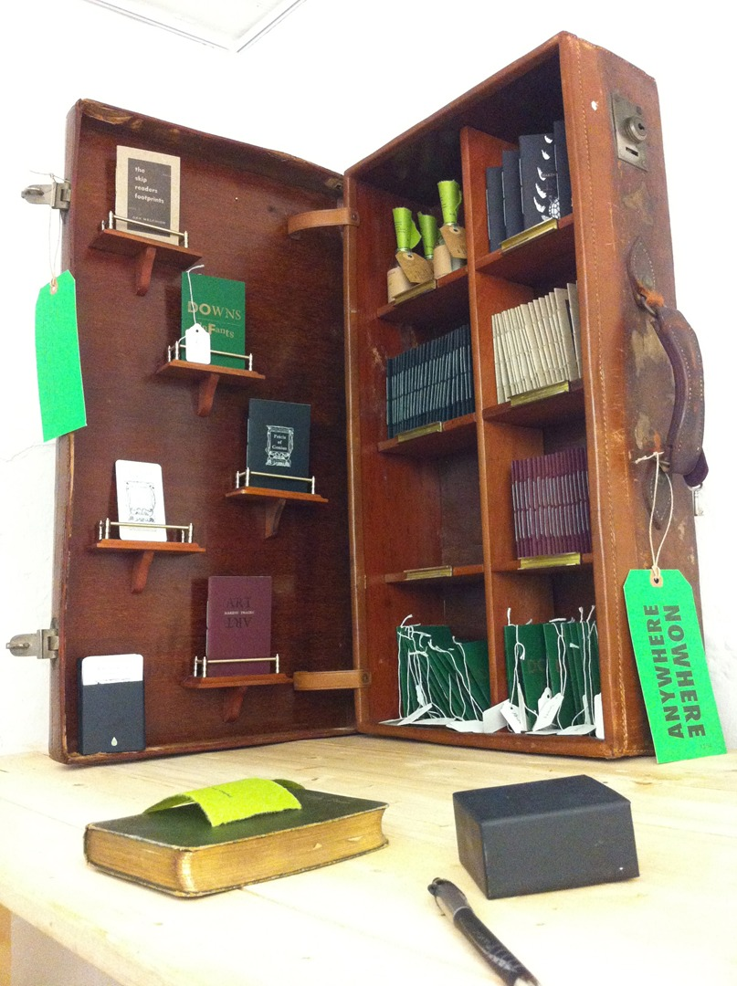 The Suitcase Library by Pig Ear Press