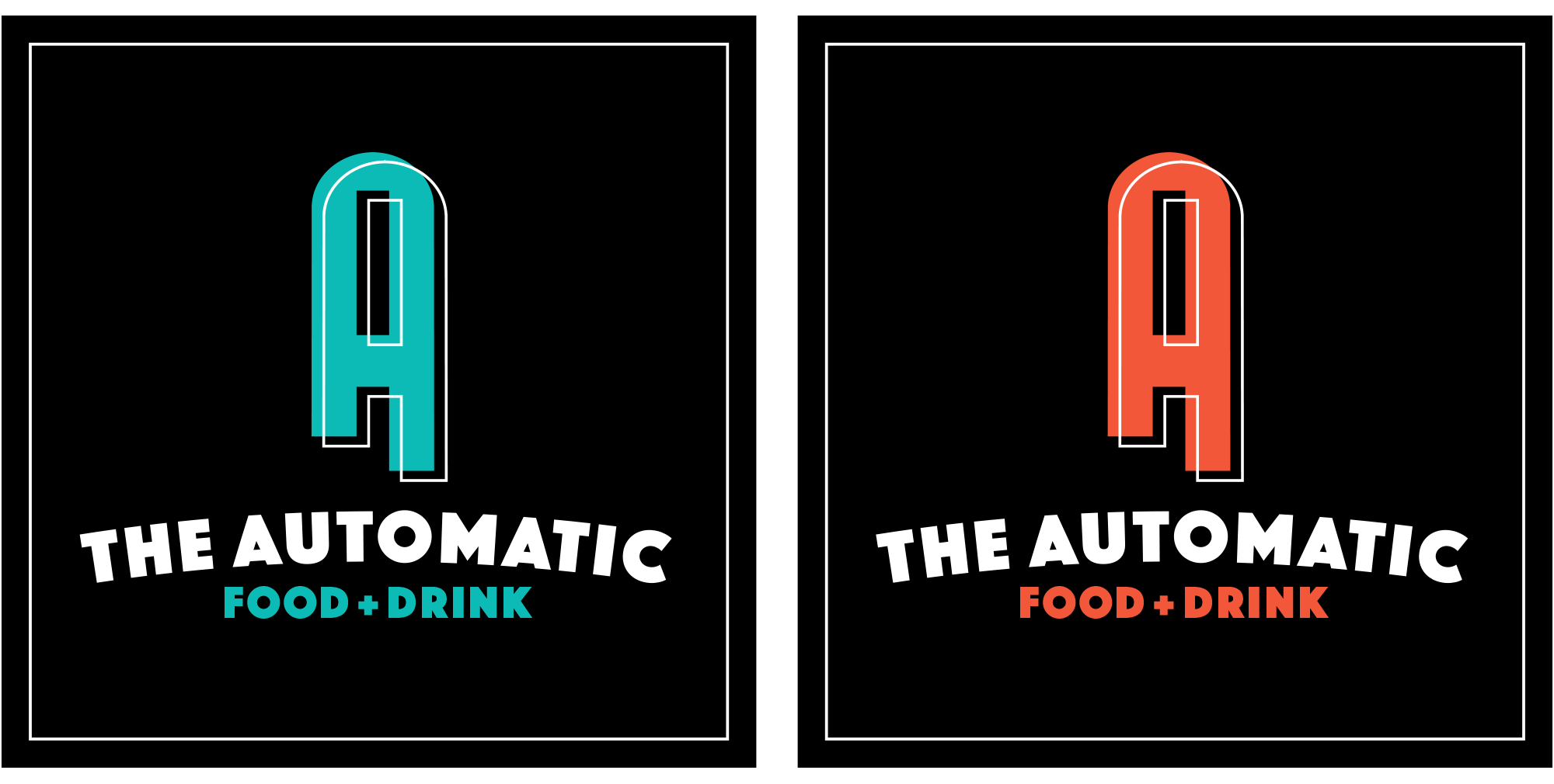 The Automatic Logo in Automatic Blue and Automatic Orange.